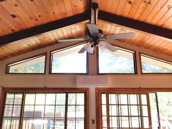 Ductless Air Conditioning In A Twain Harte, CA Cabin